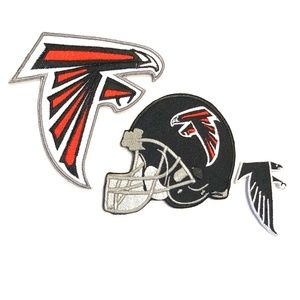 Other - Atlanta Falcons Patch Iron On NFL Football DIY